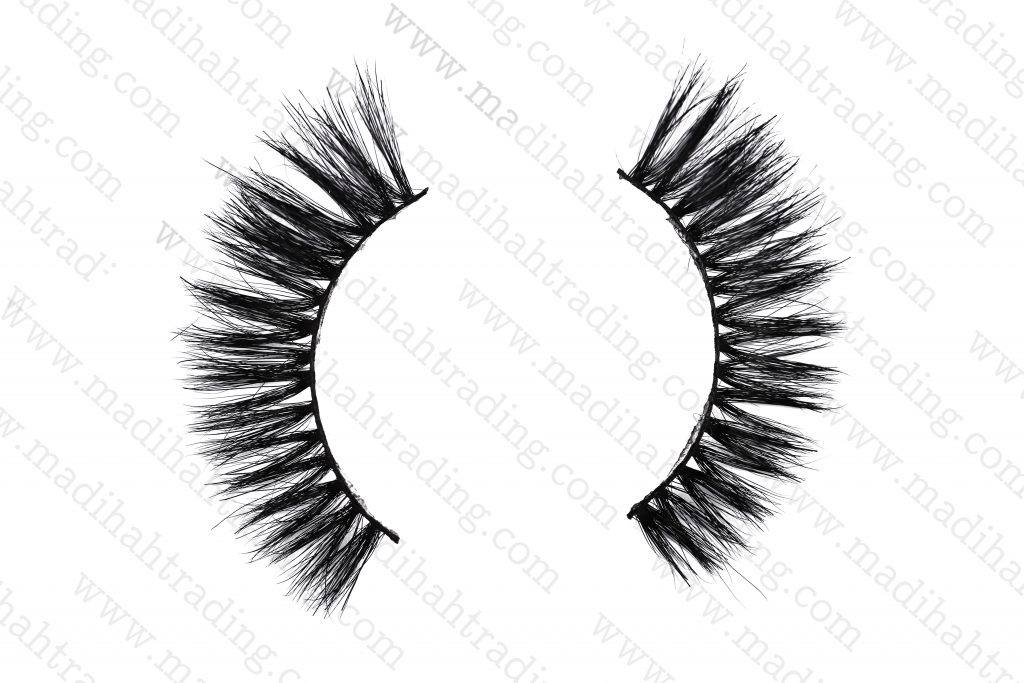 Madihahprivate label horse hair real mink fur lashes suppliers