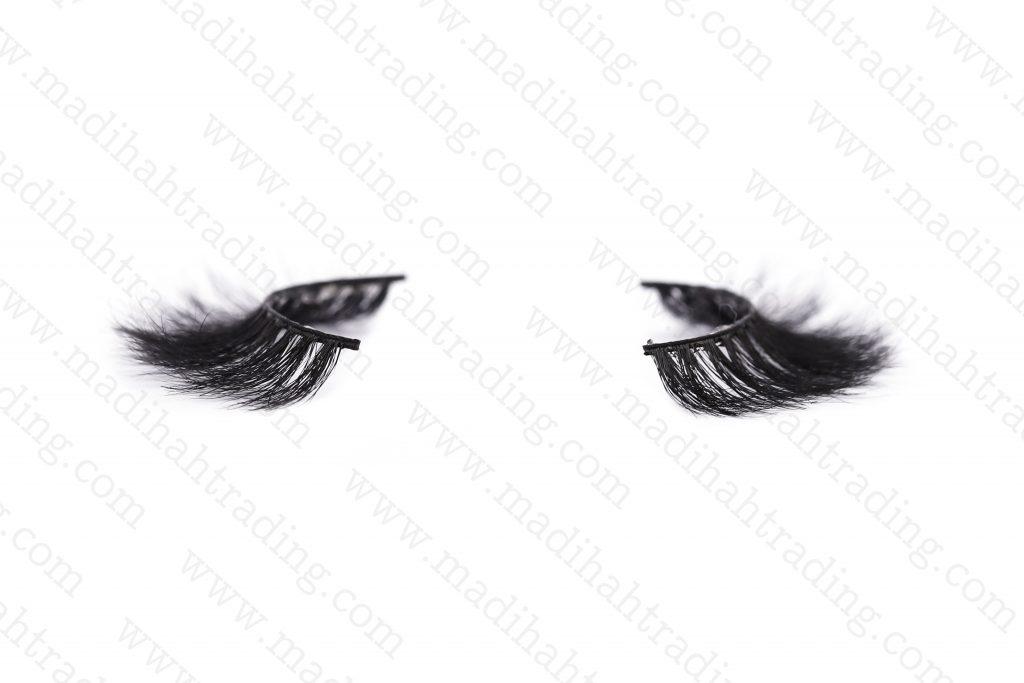 Madihah supply the horsemink 3d hair lashes tothe mink eyelashes aliexpress strip lash vendors.