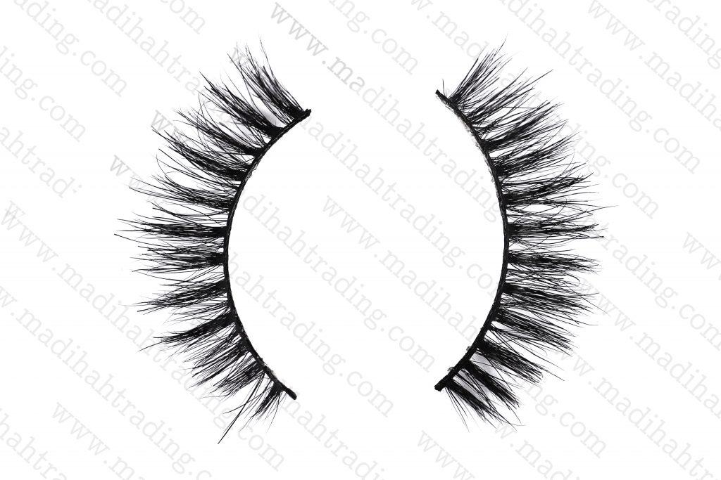 Madihah horse fur mink eyelashes cheap wholesale in china