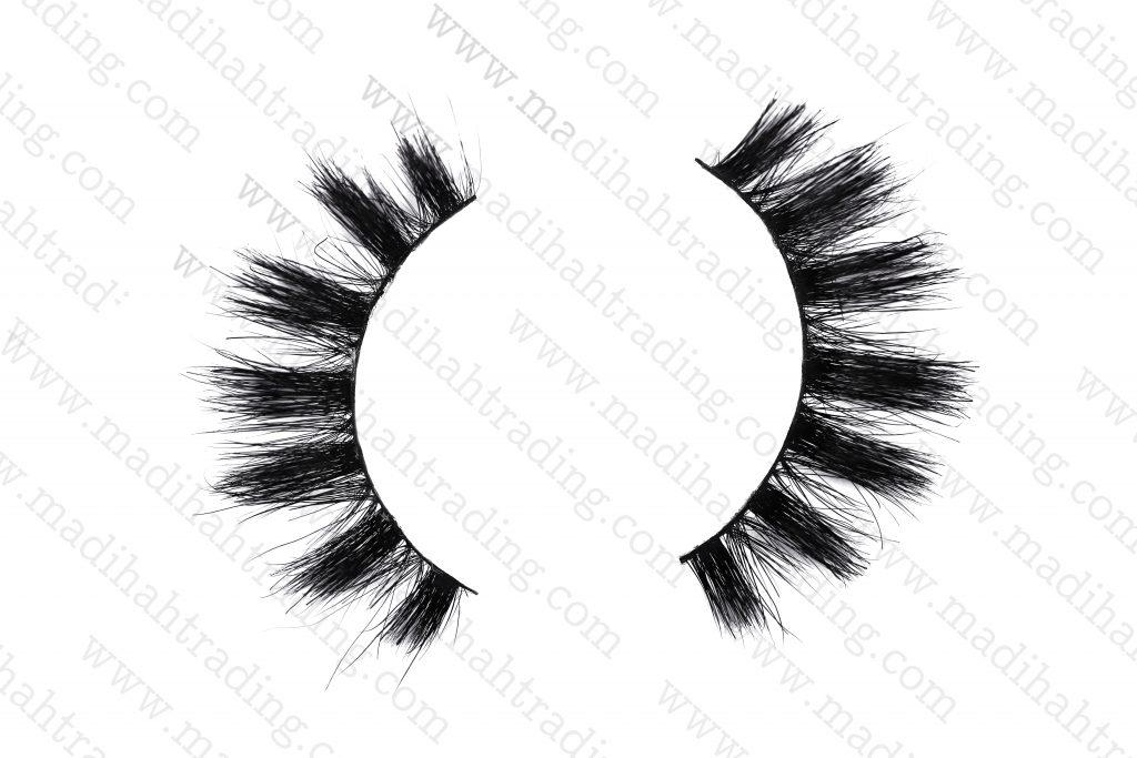 Madihah horse hair mink lashes amazon wholesale.