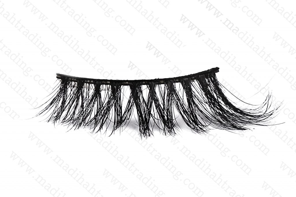 Madihah horse fur mink lashes bulk wholesale in china.