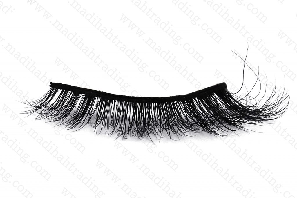 Madihah aliexpress 3d mink eyelashes wholesale cruelty free siberian mink eyelashes.