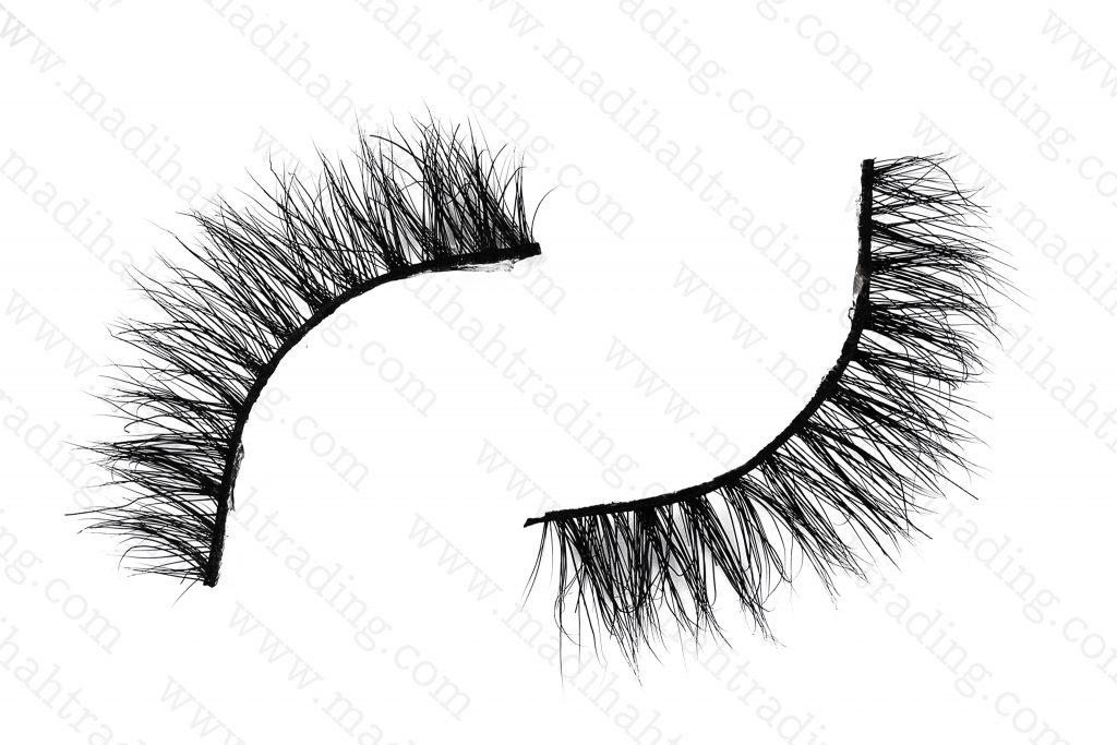 Madihah siberian mink eyelashes with 100% handmade.