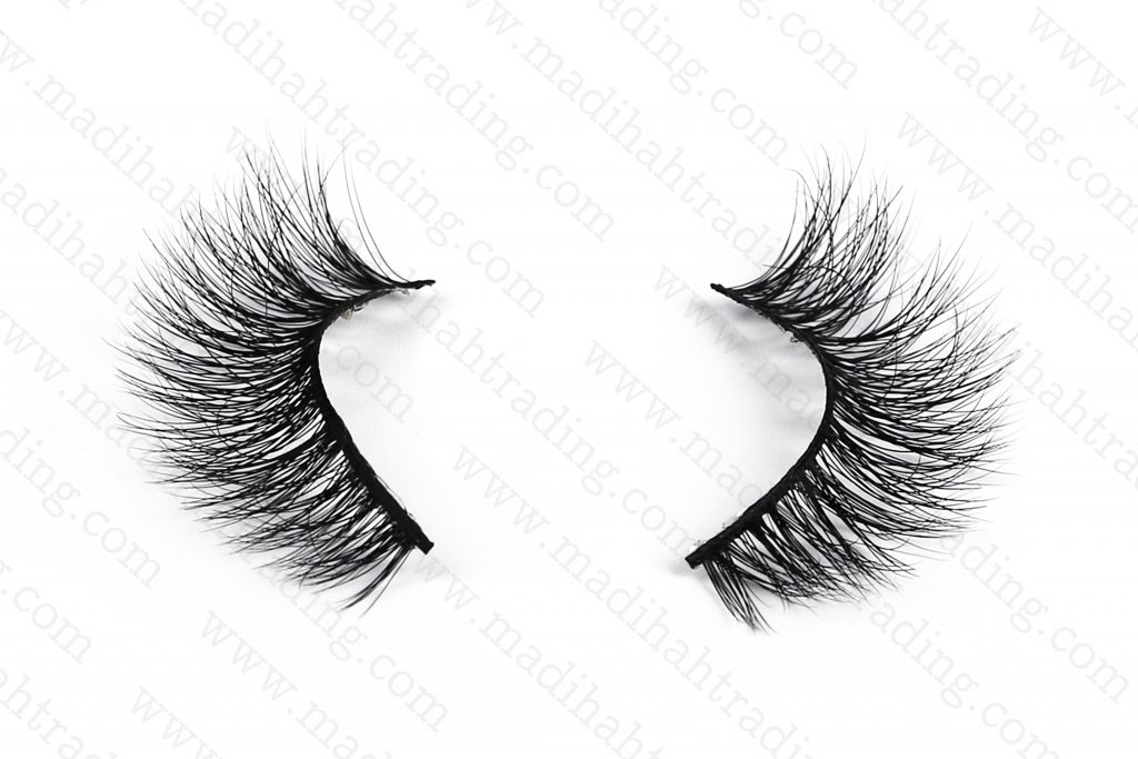 Madihah wholesale siberian mink fur lashes vendors china