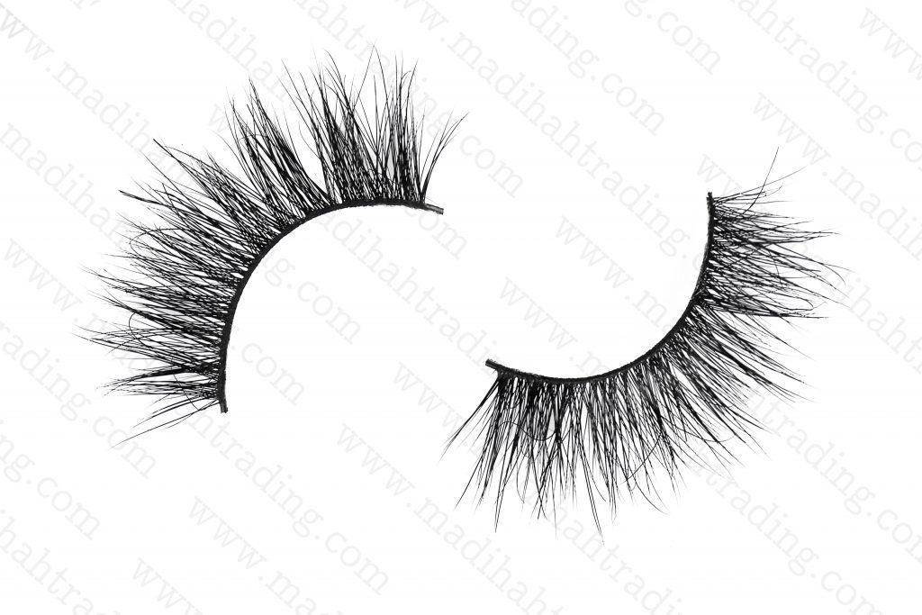 Madihah Trading wholesale reusable siberian mink fur eyelashes.
