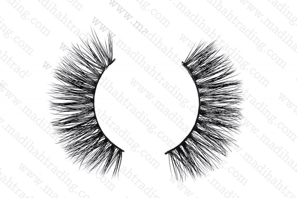 Madihah 3d siberian mink eyelashes amazon wholesale in china.