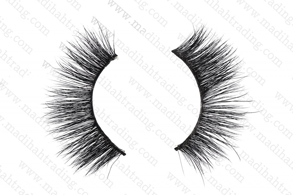 Madihah Trading siberian real mink individual lashes wholesale in china.