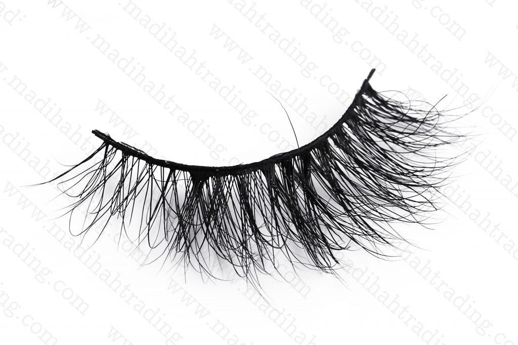 Madihah 3d siberian mink lashes vendor wholesale cruelty free siberian mink eyelashes.