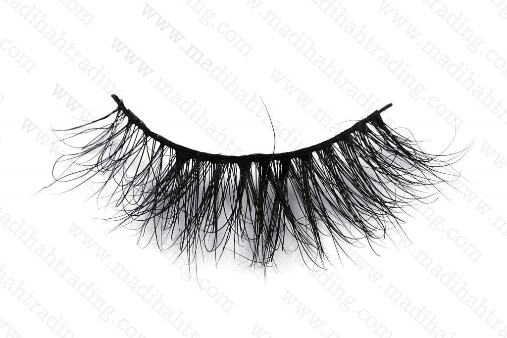 Madihah aliexpress 3d mink eyelashes wholesale cruelty free siberian mink eyelashes.