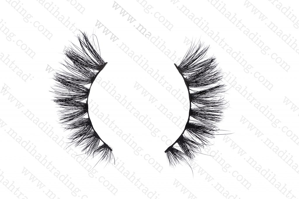 Madihah cruelty free mink lashes wholesale in china.
