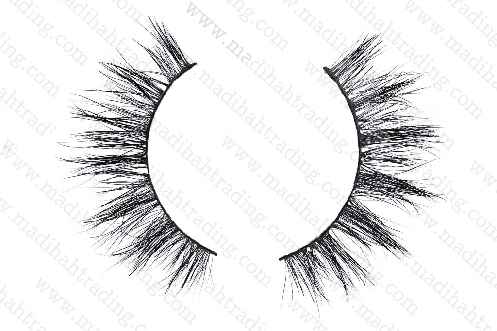 Madihah 3d mink lashes beauty supply horse tail eyelashes.