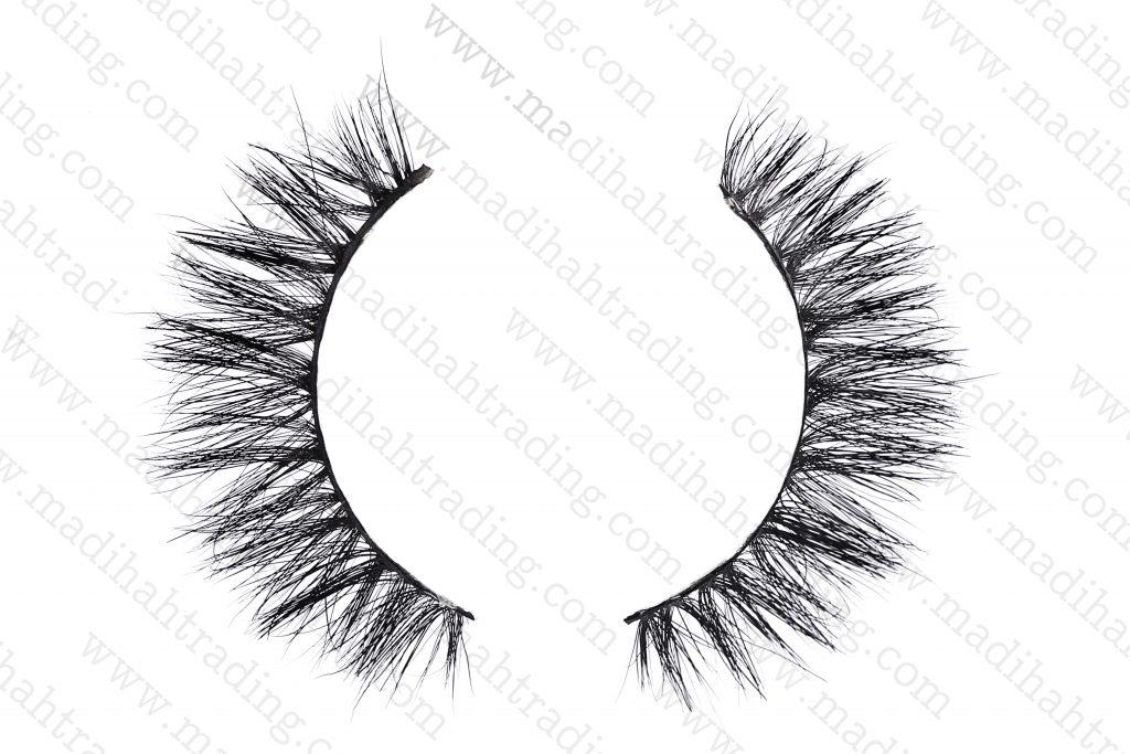 Madihah 3d mink lashes beauty supply horse tail eyelashes.