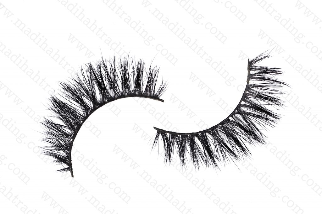 Madihah premium horse hair mink lashes wholesale in china.