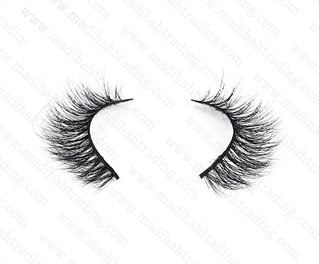 Madihah luxury mink eyelashes vendors china.