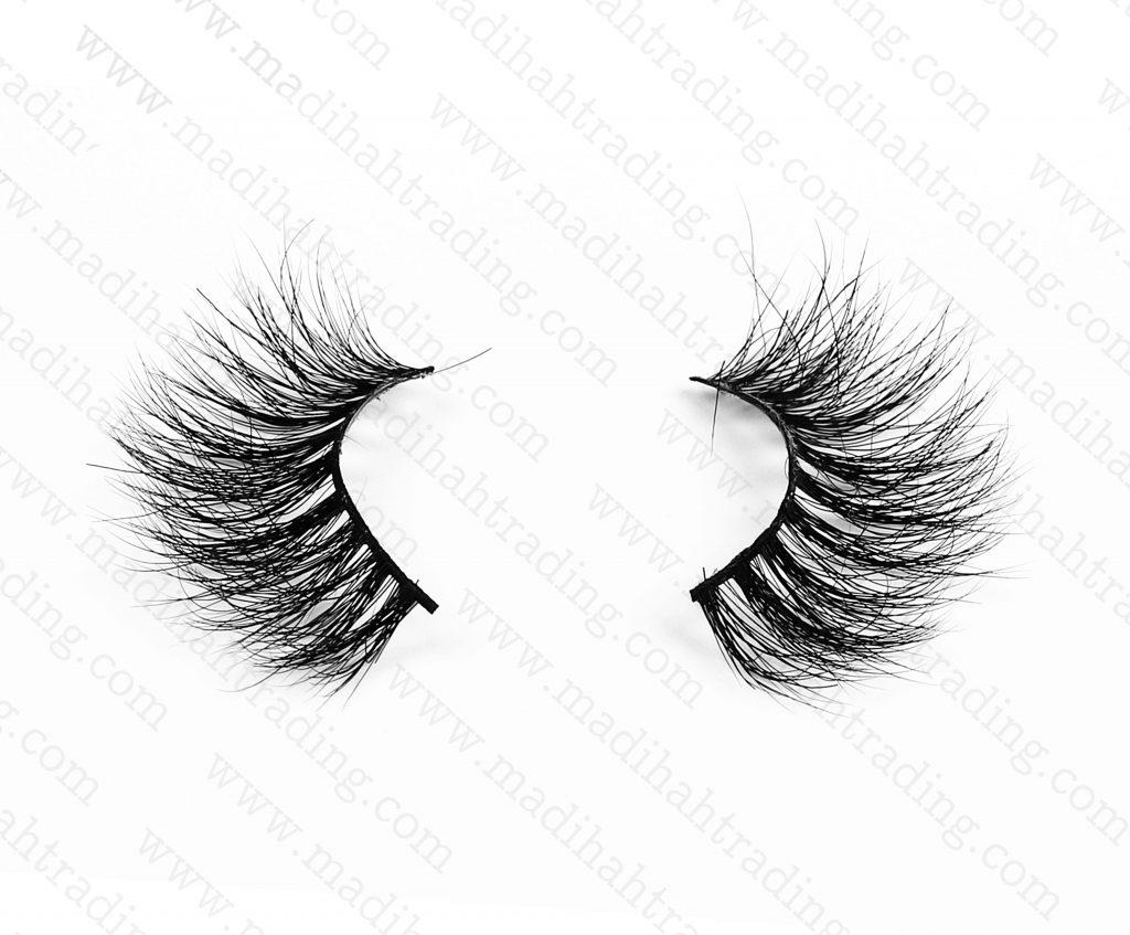Madihah luxury mink eyelashes vendors china.