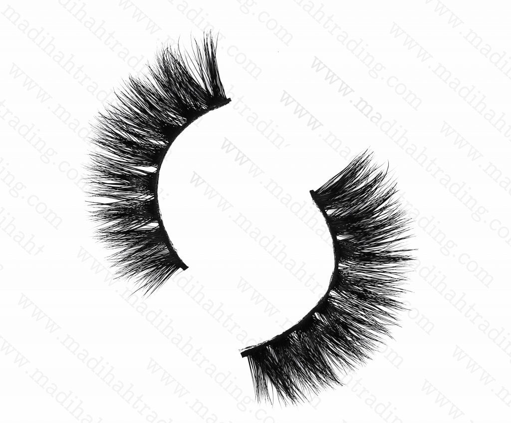 Madihah Trading 13mm siberian mink fur eyelashes wjc14 premium mink lashes wholesale in china.