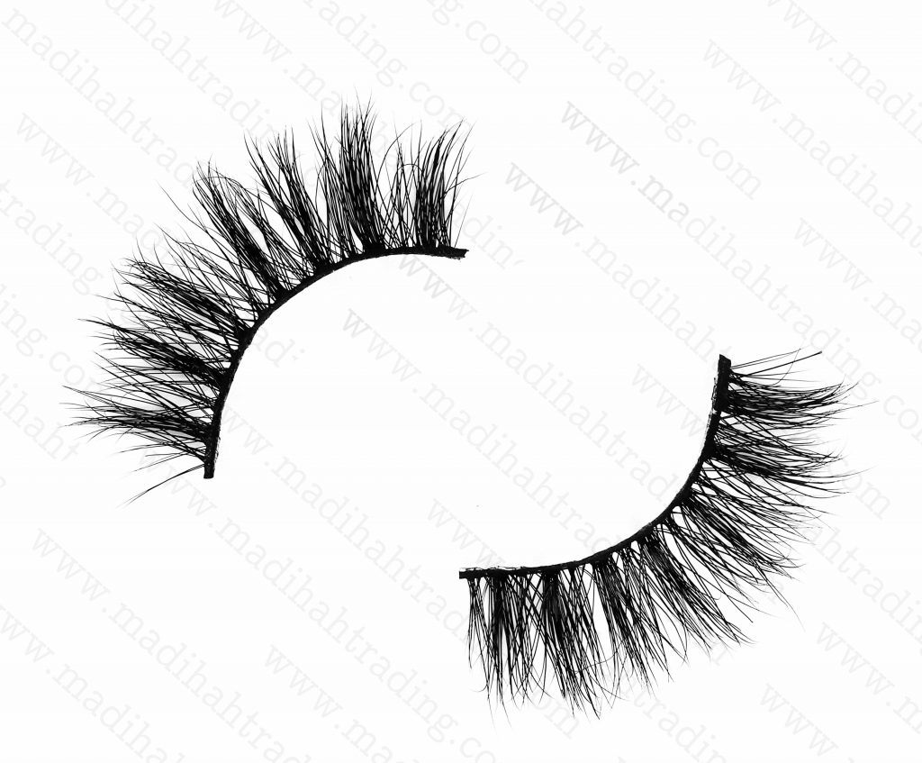 Madihah Trading 14mm siberian mink fur eyelashes wjc18 premium mink lashes wholesale in chinal.