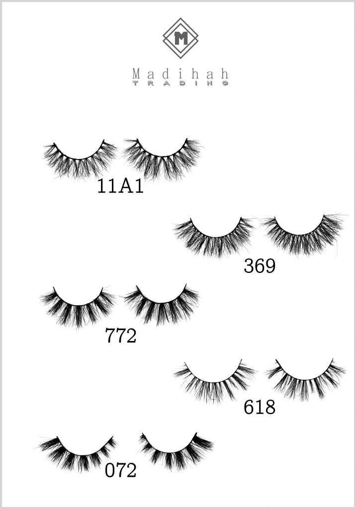 Madihah Trading premium mink eyelashes manufacturer wholesale best 3d mink eyelashes in china