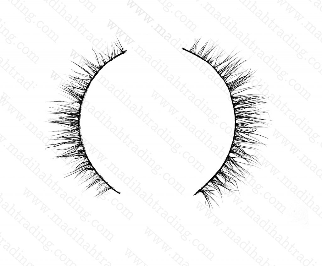 Madihah 3d mink lashes beauty supply the horse hair lashes.