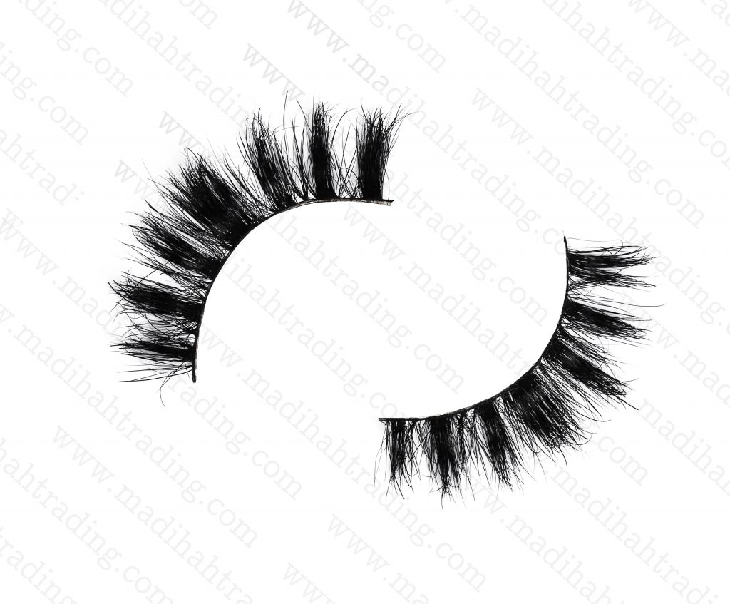 Madihah Trading 11mm cruelty free horse tail eyelashes YX22 mink lashes manufacturer in china.