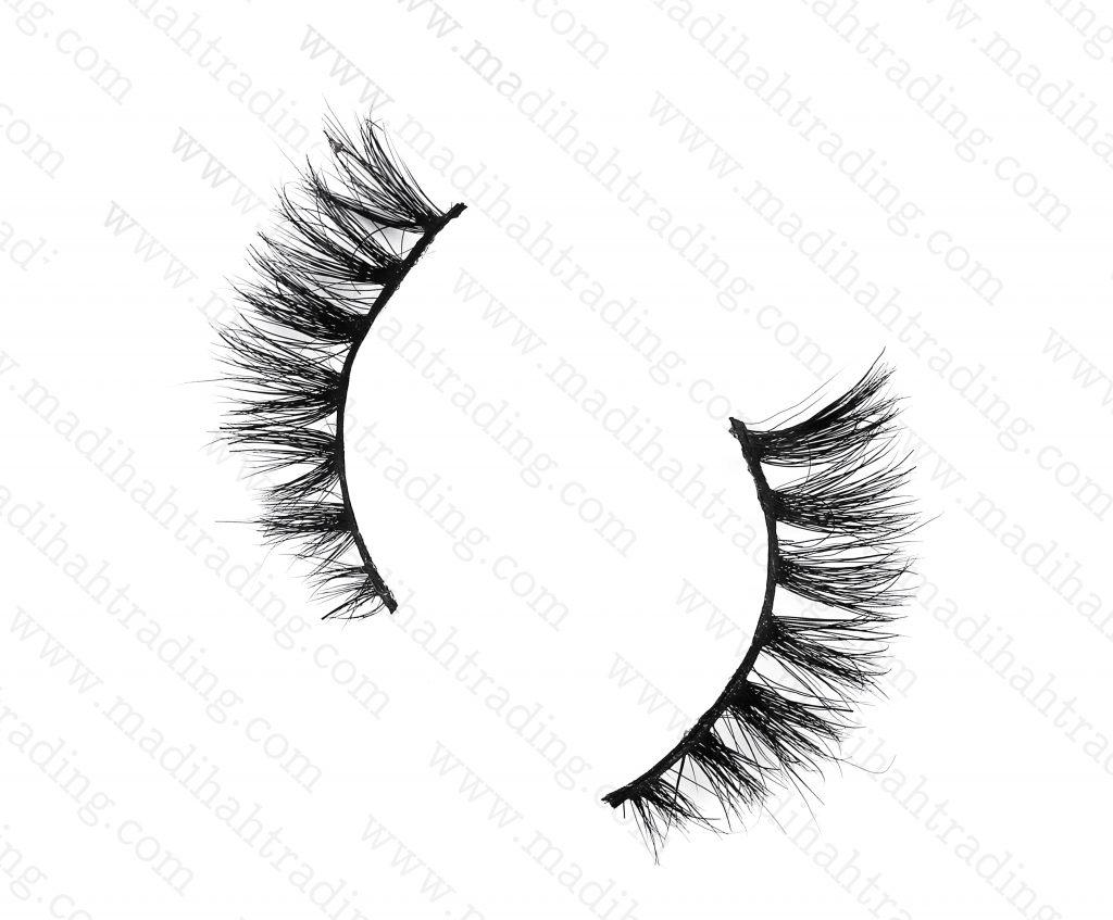 Madihah Trading 9mm3d mink eyelashes amazonMT01mink eyelash manufacturer china.