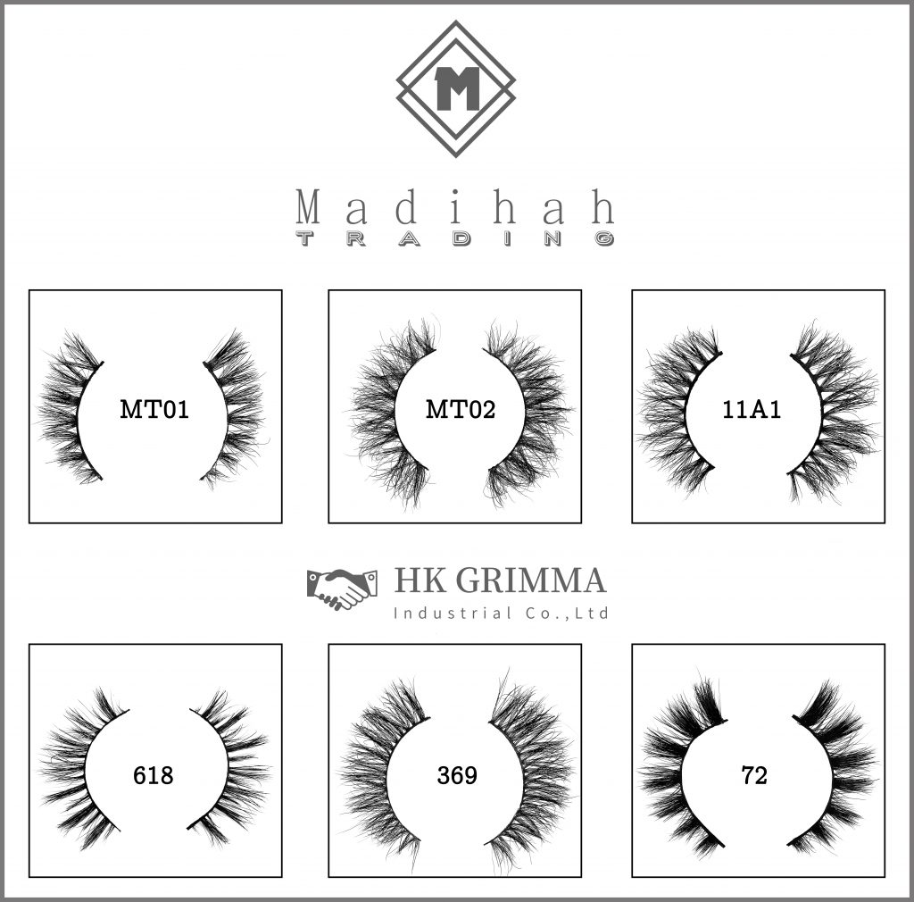 Madihah provide the mink lashes bulk to the private label mink lash suppliers.
