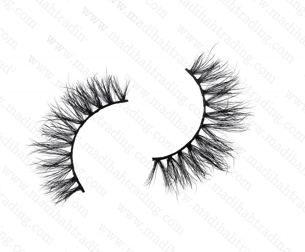 Madihah mink eyelashes wholesale in china mink eyelashes aliexpress.