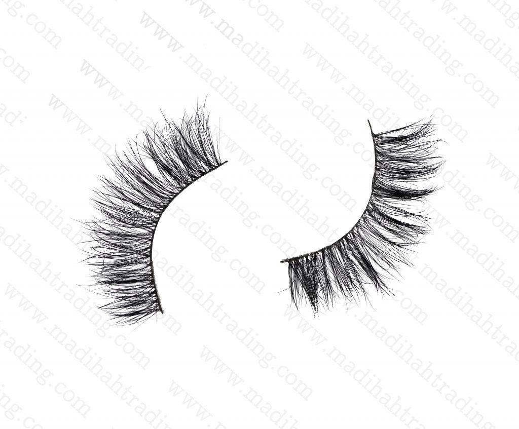 Madihah Trading 15mm3d mink eyelashes amazonyx03 provide thereal mink lashes strip.