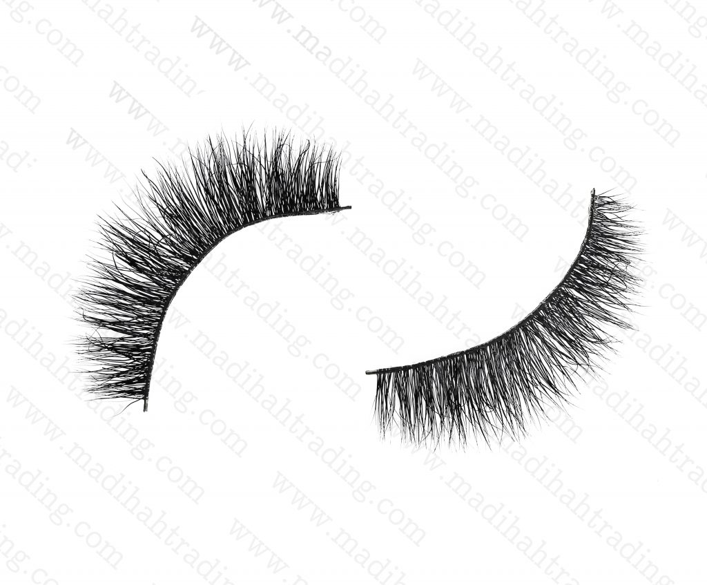 Madihah Trading 11mm 3d mink eyelashes amazon yx07 provide the real mink lashes strip.