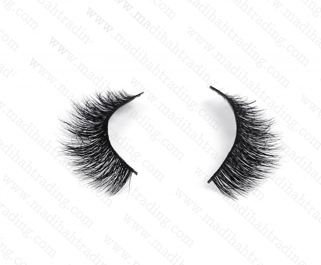 Madihah Trading 3d mink lashes vendors supply the mink eyelash extensions wholesale.
