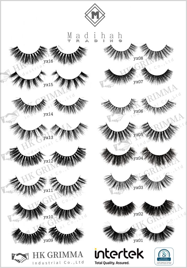 Madihah Trading cruelty free eyelash manufacturer wholesale best 3d mink individual lashes in china.