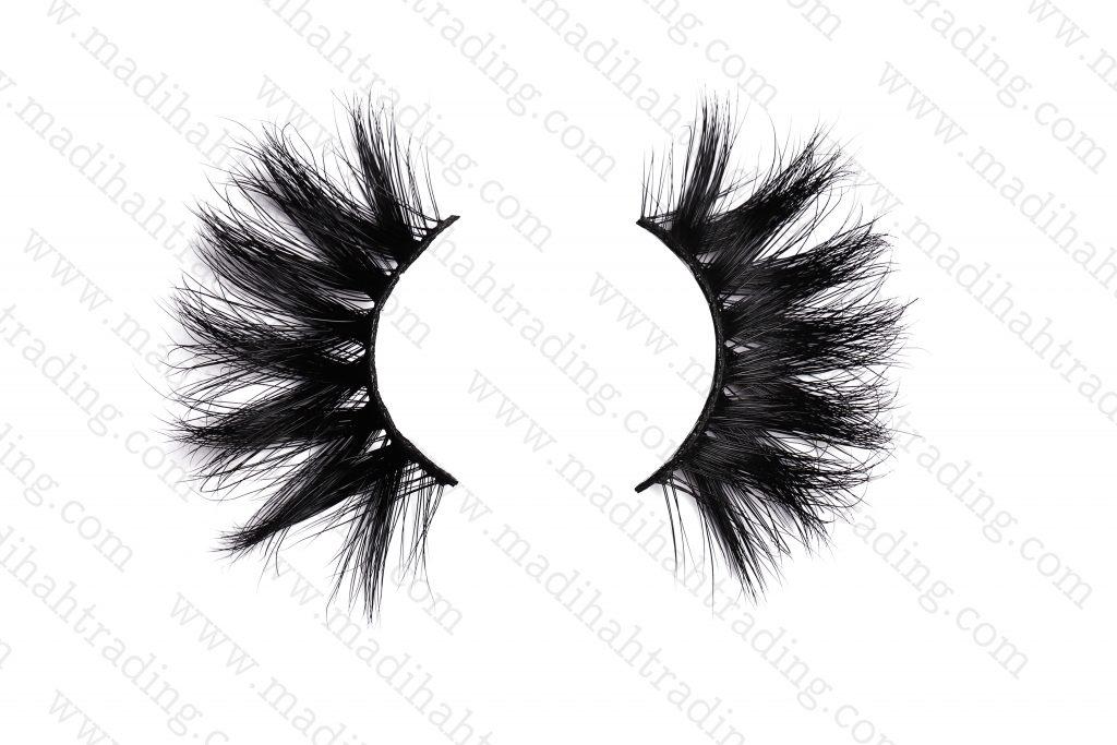 Madihah Trading natural mink fur eyelashes wholesale in china.