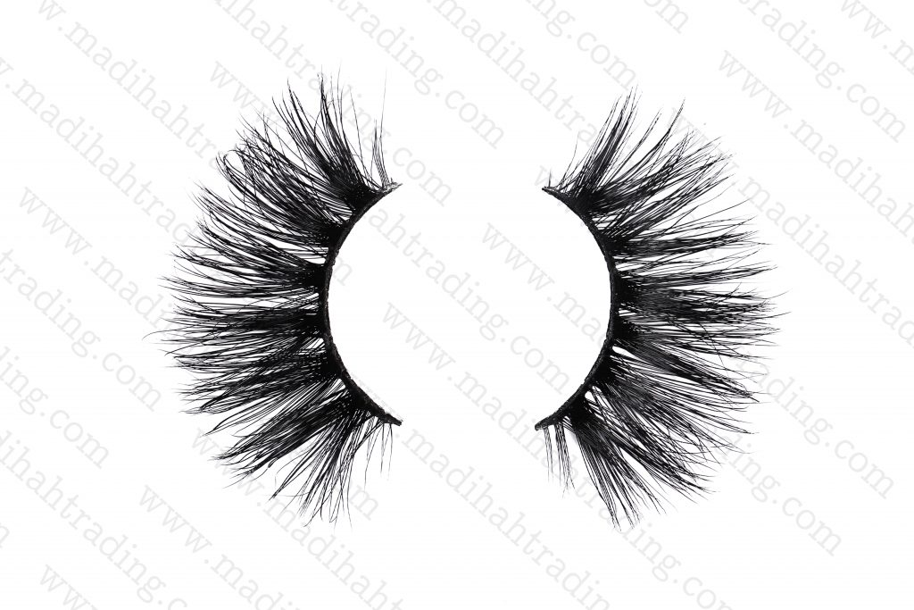 Madihah Trading natural mink fur eyelashes wholesale in china.