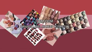 PRIVATE LABEL COSMETICS SAMPLES