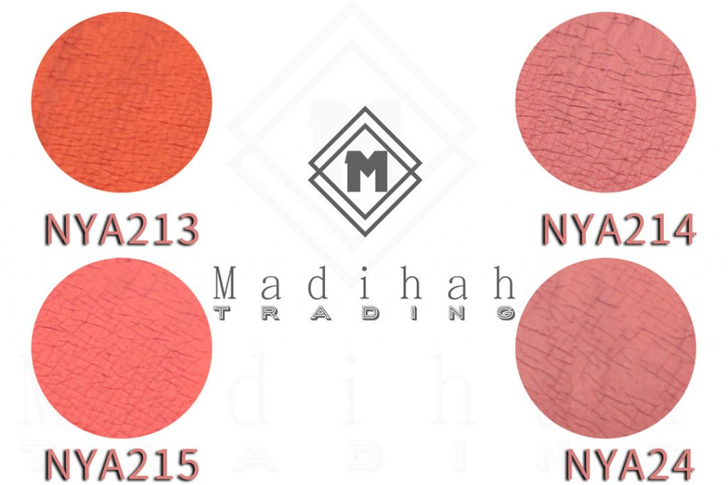 Matte Lipgloss Color Swatches