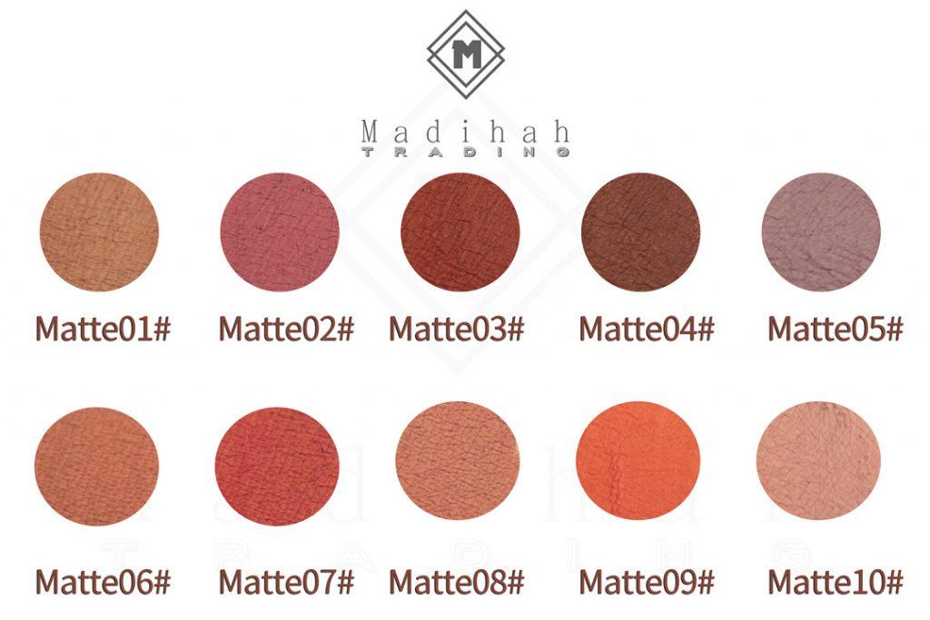 Long Lasting Matte Lip Gloss Swatches