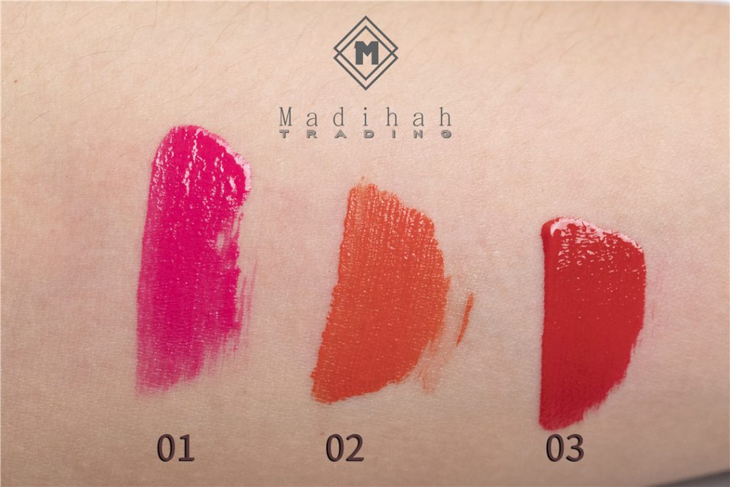 Shiny Lip Gloss Color Swatches