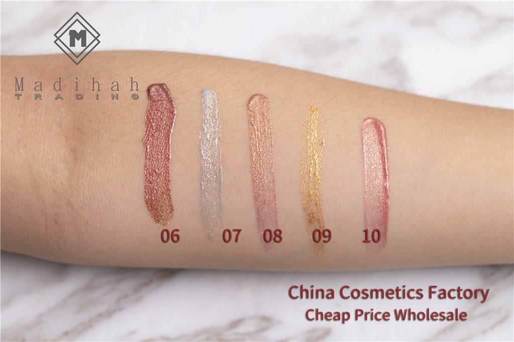 Glitter Lip Gloss Swatches