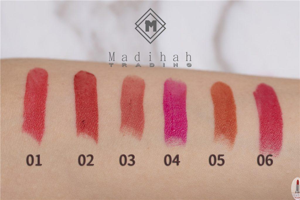 Matte Lipstick Swatches 1