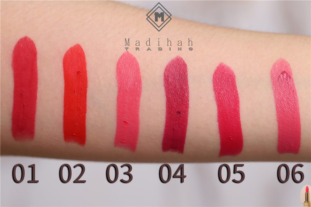 Matte Lipstick Swatches 2