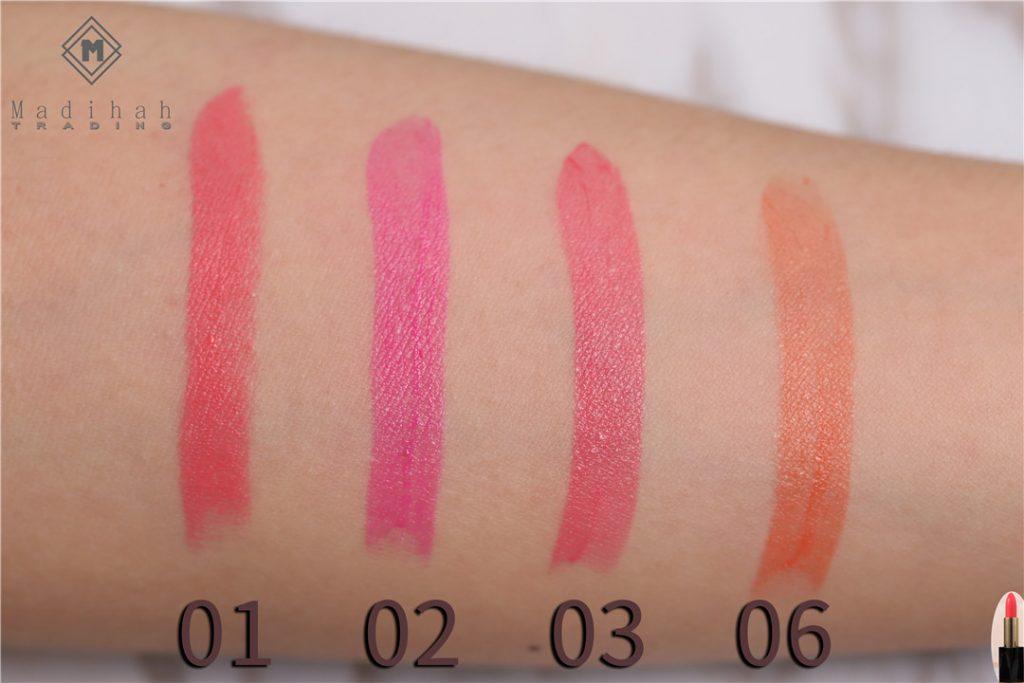 Matte Lipstick Swatches 3