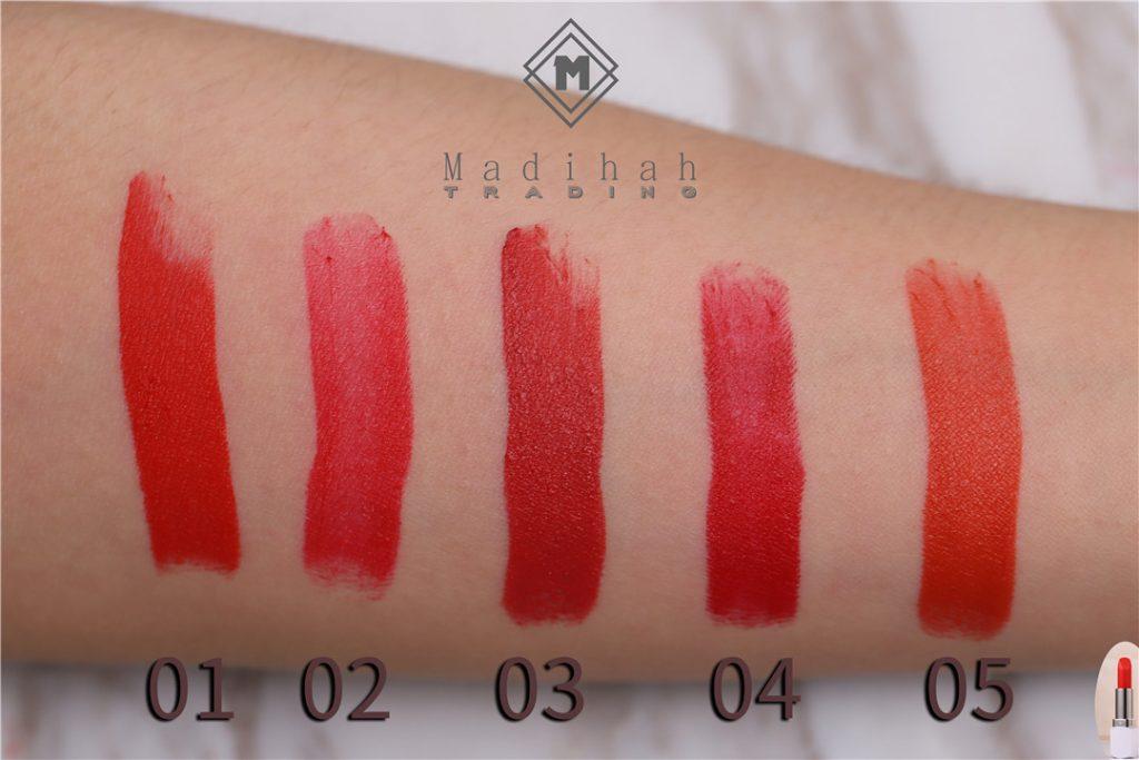 Matte Lipstick Swatches 4