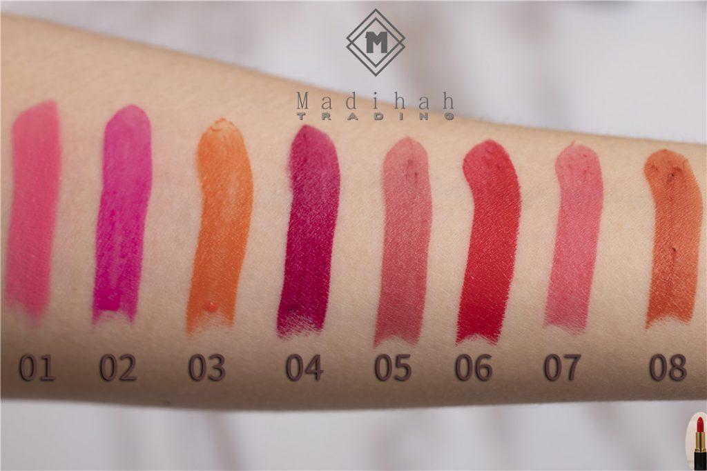 Matte Lipstick Swatches 7