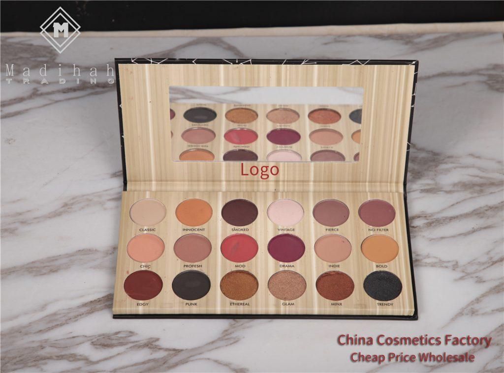 Madihah 18 colors makeup eyeshadow palettes