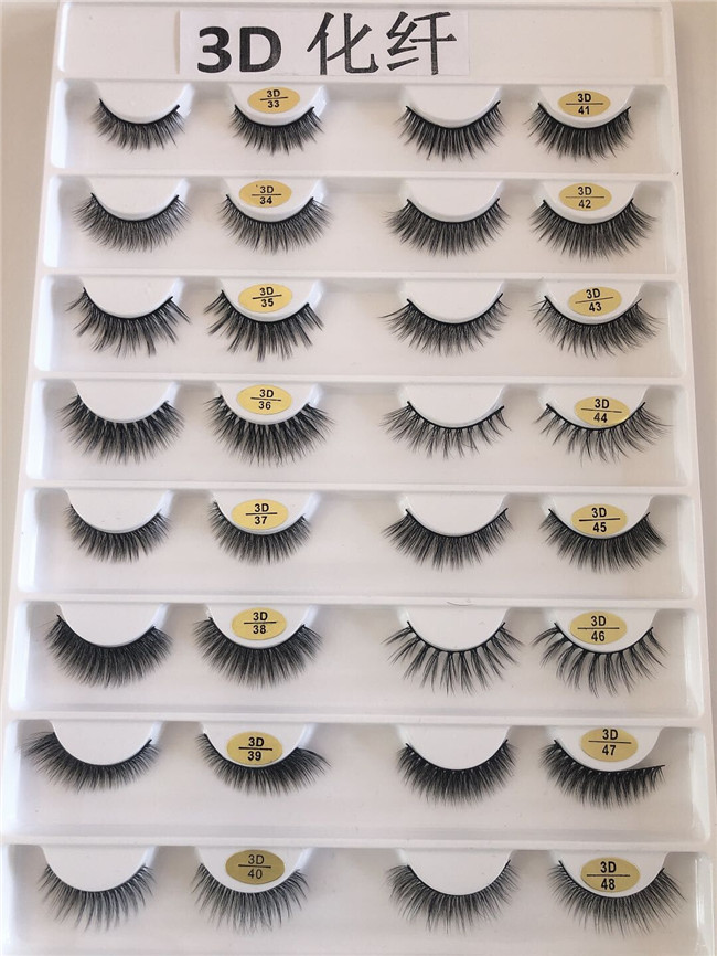 Madihah Trading synthetic mink eyelashes extensions charts 3