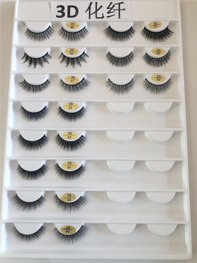 Madihah Trading synthetic mink eyelashes extensions charts 4