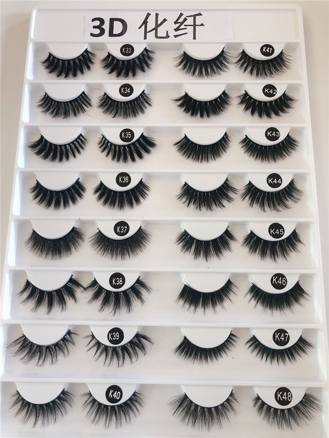 Madihah Trading synthetic mink eyelashes extensions charts 7