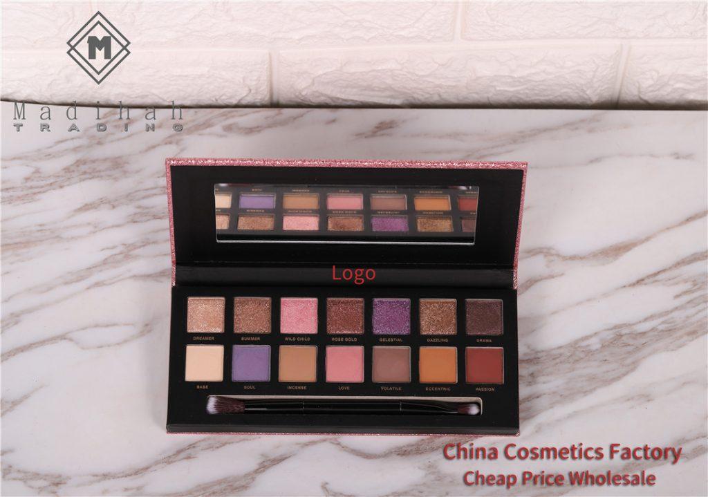 Madihah 14 colors makeup eyeshadow palettes 03