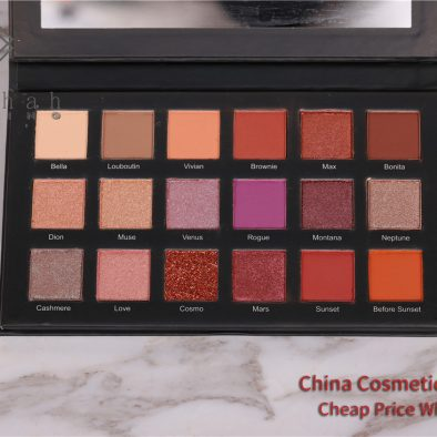 Madihah 18 colors makeup eyeshadow palettes 09