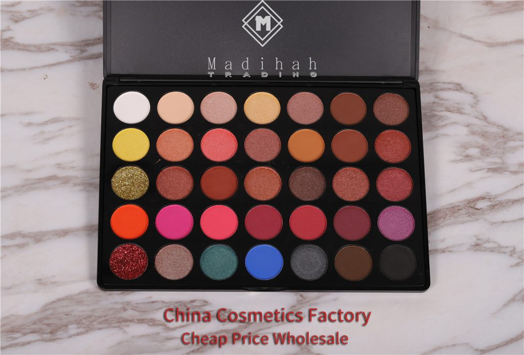 Madihah 35 colors makeup eyeshadow palettes 02